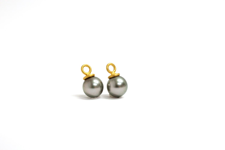 Perl Einhänger für Kreolen