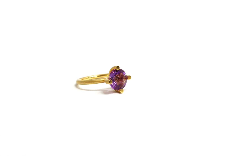 GG Farbenspiel Ring Amethyst